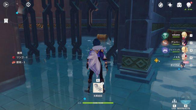 狼の神殿:宝箱1